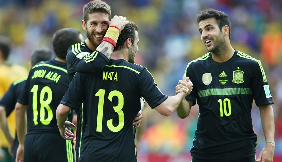 Fabregas nnoyed with Sergio Ramos
