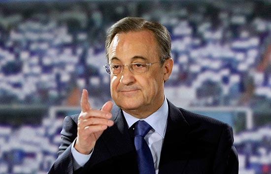 Florentino Pérez prefers messi over ronaldo