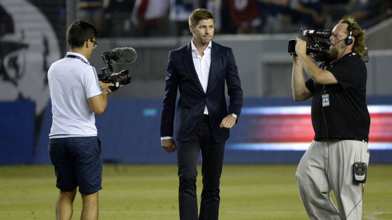 Steven Gerrard could be England's next coach