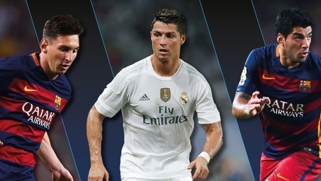 Messi, Suárez and Ronaldo are the final nominees of the Best Player in Europe Award