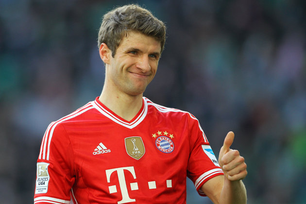 Manchester has proposed £88m bid for Thomas Muller