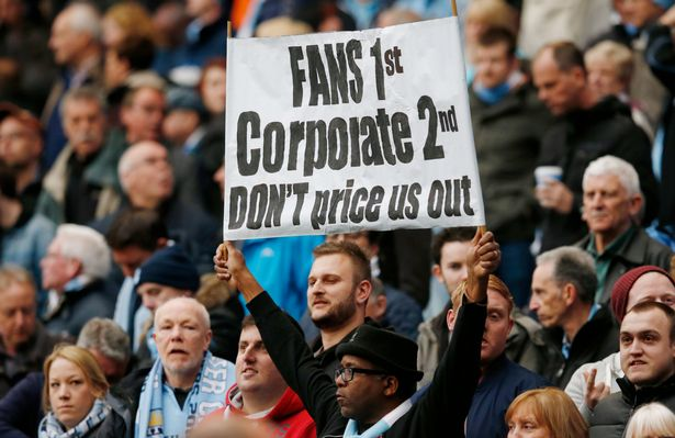 Supporters angry at English Football League for exorbitant prices of away tickets